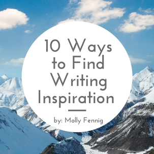 10 Ways to Find Writing Inspiration